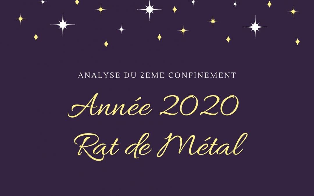 Deuxième confinement 2020 de l'Année du Rat du Métal, quels enseignements en retirer?
